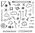 infographic elements on... | Shutterstock .eps vector #1722344149