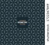 Japanese Geometric Pattern....