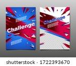 sport dynamic banner  template... | Shutterstock .eps vector #1722393670