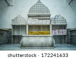 tipycal historic hammam in... | Shutterstock . vector #172241633