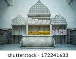 tipycal historic hammam in... | Shutterstock . vector #172241633