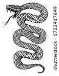 illustration of poisonous snake ...   Shutterstock .eps vector #1722417649