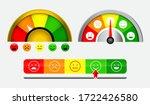 set of score indicators or... | Shutterstock .eps vector #1722426580