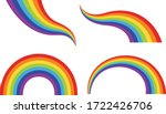 different shaped colorful... | Shutterstock .eps vector #1722426706