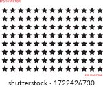 black star pattern. eps 10 | Shutterstock .eps vector #1722426730