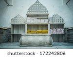 tipycal historic hammam in... | Shutterstock . vector #172242806