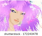 stock abstract fashion... | Shutterstock .eps vector #172243478