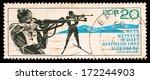 gdr  circa 1967  gdr stamp... | Shutterstock . vector #172244903