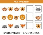 what comes next with cute... | Shutterstock .eps vector #1722450256