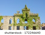 ruins of smallpox hospital ... | Shutterstock . vector #172246640