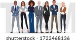 team workers. office coworkers. ...   Shutterstock .eps vector #1722468136
