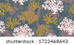 Vector Seamless Pattern Ocean...