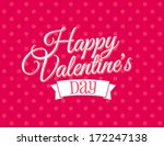 happy valentine's day | Shutterstock .eps vector #172247138