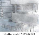 sketch city | Shutterstock . vector #172247174