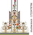 Digital Textile Design Flowers...