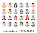 avatars head large set.... | Shutterstock .eps vector #1722478939