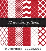 Twelve Seamless Geometric...