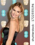 Small photo of London, United Kingdom - February 18, 2018: Lily James attends the EE British Academy Film Awards (BAFTAs) held at the Royal Albert Hall in London, UK.