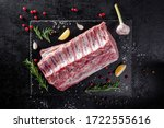Raw Meat. Raw Pork Ribs From...