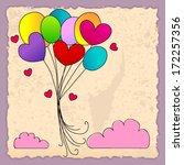 vector illustration of cute...   Shutterstock .eps vector #172257356