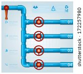 water pipe business infographic ... | Shutterstock .eps vector #172257980