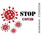 coronavirus 2019 ncov  covid 19 ... | Shutterstock .eps vector #1722621526