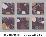 set of six square background...   Shutterstock .eps vector #1722626353