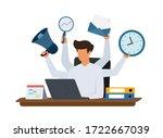 Multitasking Manager Working On ...