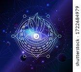 vector illustration of sacred...   Shutterstock .eps vector #1722684979
