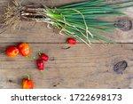 organic fresh vegetables on...