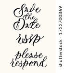 save the date  rsvp  please... | Shutterstock .eps vector #1722700369