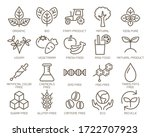 food safety vector icon set. | Shutterstock .eps vector #1722707923