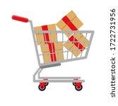 Supermarket Shopping Cart...