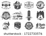 set of bmx  skateboard and mtb... | Shutterstock .eps vector #1722733576