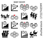 baby boom  baby boomer... | Shutterstock .eps vector #1722743599