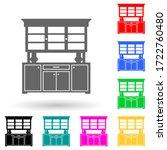 kitchen cabinet multi color...
