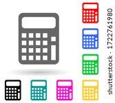 calculator multi color style...