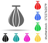 punching bag multi color style...