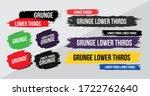 news lower thirds pack vector.... | Shutterstock .eps vector #1722762640