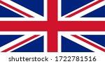 drapeau du royaume uni... | Shutterstock .eps vector #1722781516