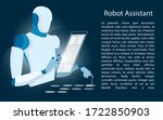 smart chatbot to your business. ...   Shutterstock .eps vector #1722850903