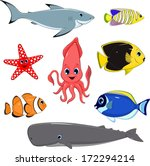 vector illustration  set of... | Shutterstock .eps vector #172294214
