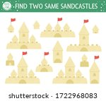 Find Two Same Sandcastles....