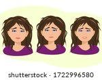 cartoon character on white... | Shutterstock .eps vector #1722996580