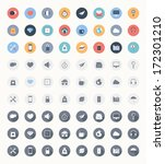 vector set of modern trendy and ...