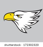 flying eagle | Shutterstock .eps vector #172302320