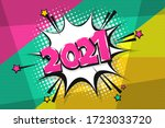 2021 happy new year christmas... | Shutterstock .eps vector #1723033720
