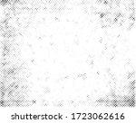 grunge halftone dots texture... | Shutterstock .eps vector #1723062616