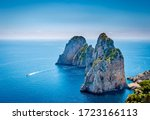 View Of Famous Faraglioni Rocks ...