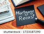 Mortgage Recast Memo With Money ...